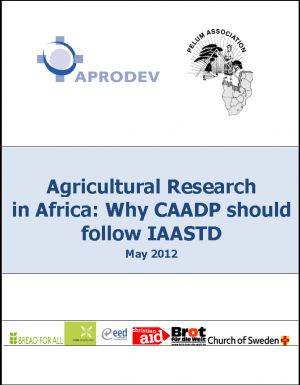 Agricultural Research in Africa: Why CAADP Should Follow IAASTD