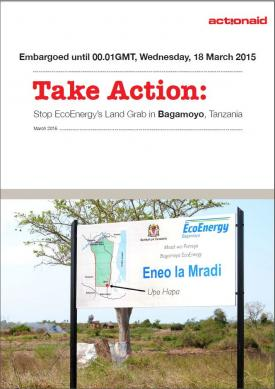 Take Action: Stop EcoEnergy's Land Grab in Bagamoyo, Tanzania