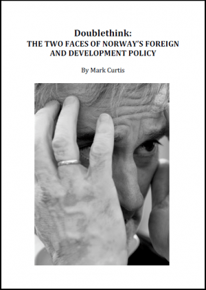 Doublethink: The Two Faces of Norway's Development Policy