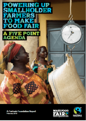 Powering Up Smallholder Farmers to Make Food Fair: A Five Point Agenda