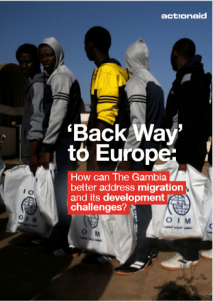 'Back Way to Europe': How Can The Gambia Better Address Migration and Its Development Challenges?
