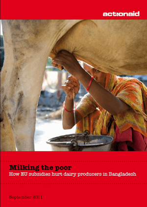 Milking the Poor: How EU Subsidies Hurt Dairy Producers in Bangladesh