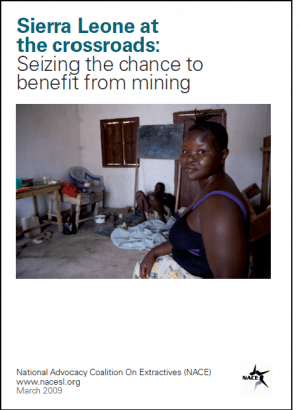 Sierra Leone at the Crossroads: Seizing the Chance to Benefit from Mining