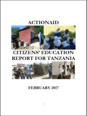 Tanzania Citizens' Education Report