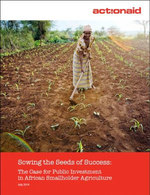 Sowing the Seeds of Success: The Case for Public Investment in African Smallholder Agriculture