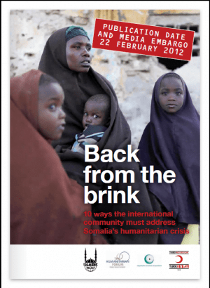 Back from the Brink: 10 Ways the International Community Must Address Somalia's Humanitarian Crisis
