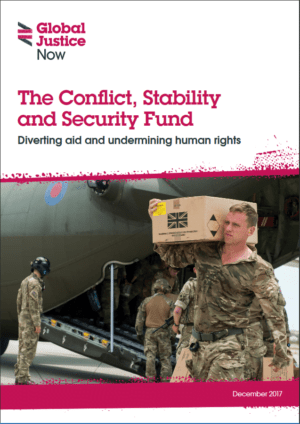 The Conflict, Stability and Security Fund: Diverting Aid and Undermining Human Rights