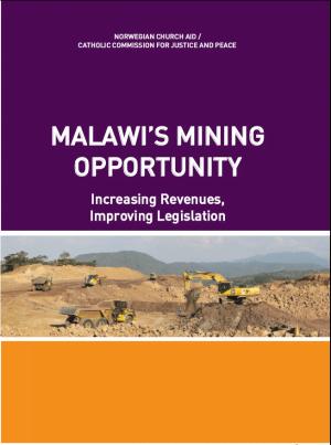 Malawi's Mining Opportunity: Increasing Revenues, Improving Legislation