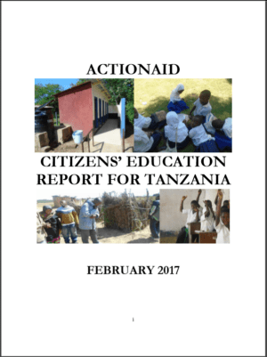 Tanzania Citizens' Education Report