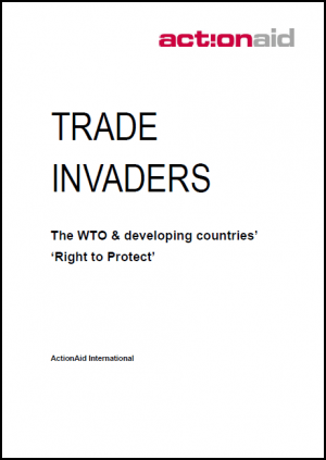 Trade Invaders: The WTO and Developing Countries 'Right to Protect'