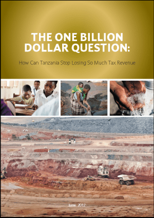 The One Billion Dollar Question: How Can Tanzania Stop Losing So Much Tax Revenue