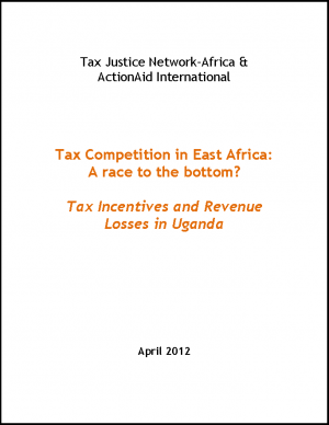 Tax Incentives and Revenue Losses in Uganda