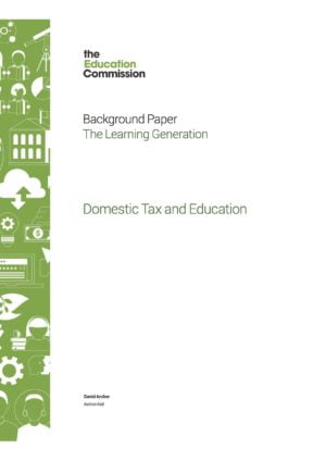 Domestic Tax and Education