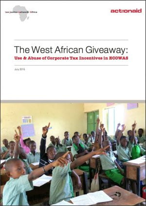 The West African Giveaway: Use and Abuse of Corporate Tax Incentives in ECOWAS